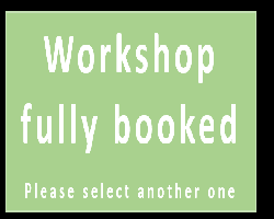 Workshop fully booked. Please select another one.